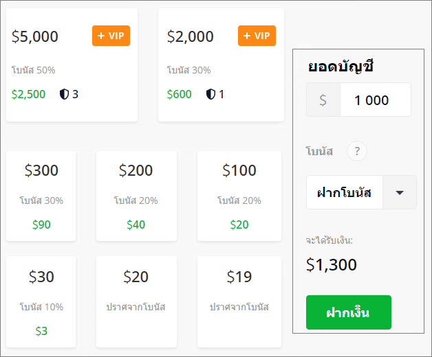 ฝากเงิน olymp trade good information