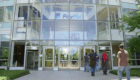 สำนักงาน PayPal ในสหรัฐ